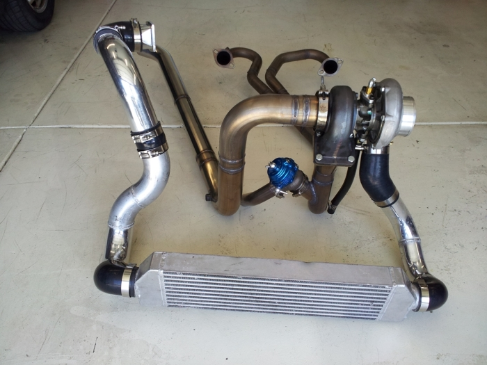 LS Turbo Kit for cars: Makes everything higher | Goat Performance